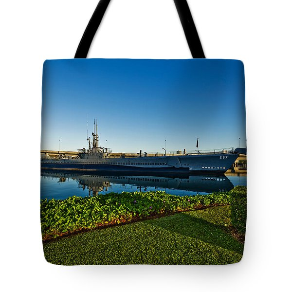 World War II Submarine At A Museum, Uss Tote Bag