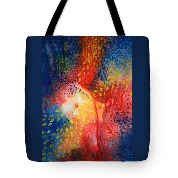 World Within Tote Bag