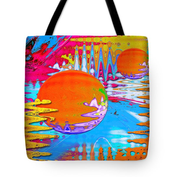 Worlds Apart Tote Bag