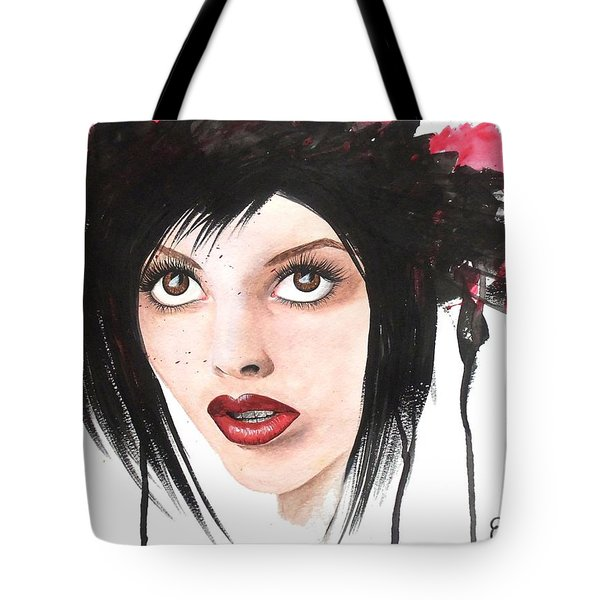 Worlds End Tote Bag by Oddball Art Co by Lizzy Love