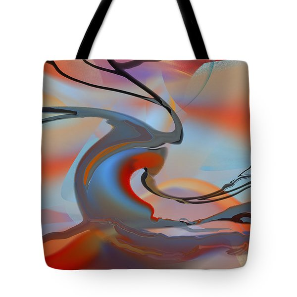 World's End Tree Tote Bag by rd Erickson