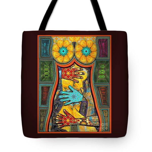 Worlds Inside Tote Bag by Joseph J Stevens