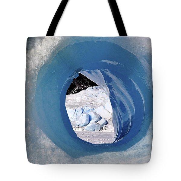 Wormhole 2 Tote Bag by Cathy Mahnke
