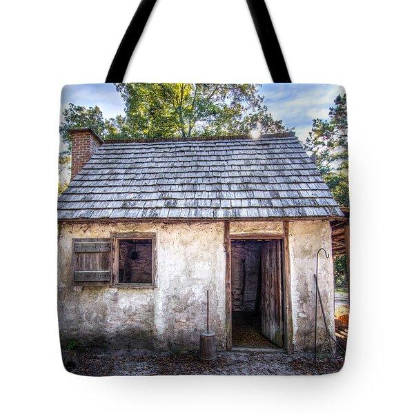 Wormsloe Cabin Tote Bag