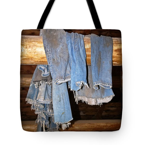 Tote Bag featuring the photograph Worn Out At The End Of The Day by Sue Smith