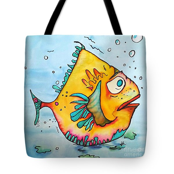 Tote Bag featuring the painting Big Charlie by Vickie Scarlett-Fisher