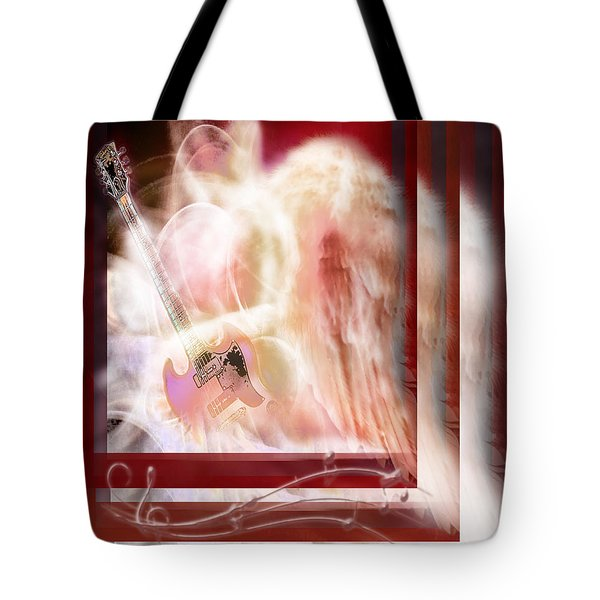 Tote Bag featuring the photograph Worship Angel by Jennifer Page