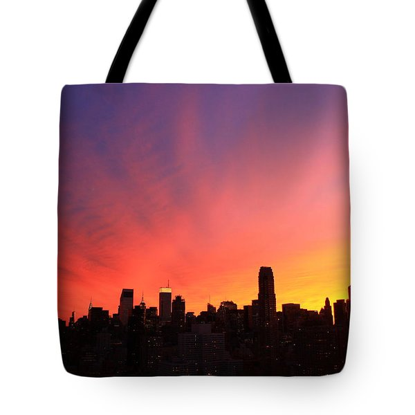 Wow Tote Bag by Catie Canetti