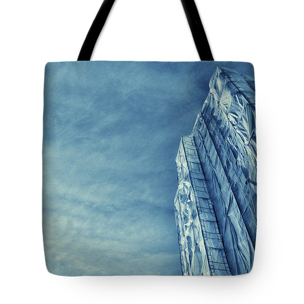 Wrapped Cathedral Tote Bag