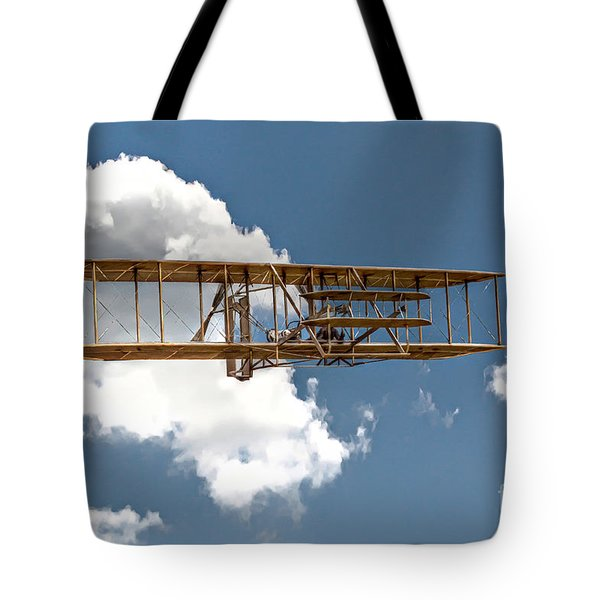 Wright Brothers First Flight Tote Bag by Randy Steele