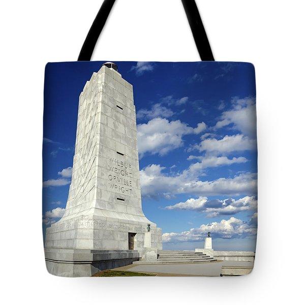 Wright Brothers Memorial D Tote Bag