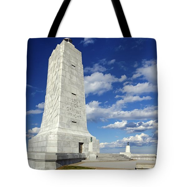 Wright Brothers Memorial D Tote Bag