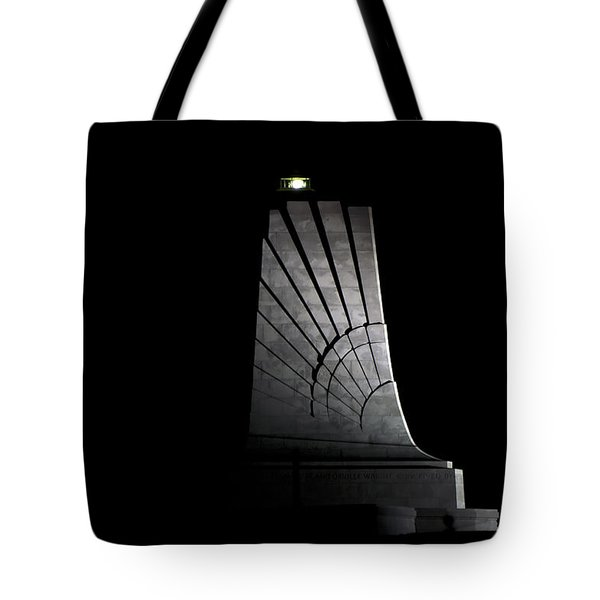 Tote Bag featuring the photograph Wright Brothers Memorial II by Greg Reed