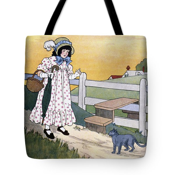 Wright: Pussy Cat Tote Bag by Granger