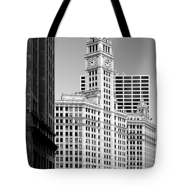 Wrigley Building - A Chicago Original Tote Bag by Christine Till