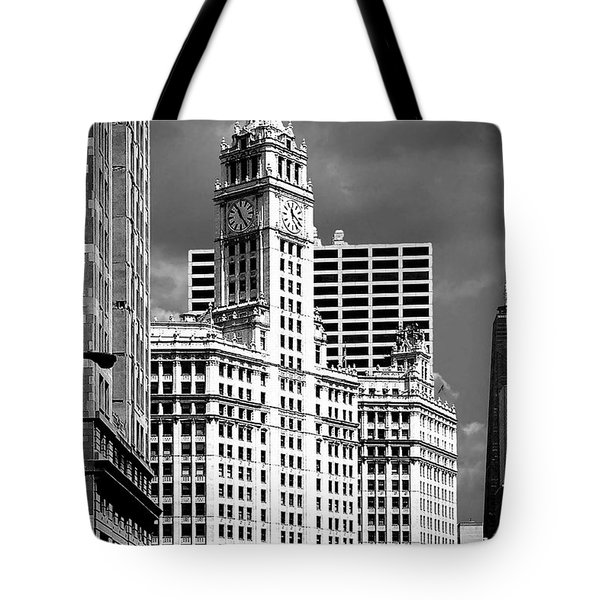 Wrigley Building Chicago Illinois Tote Bag