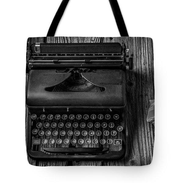 Write Me Tote Bag by Garry Gay