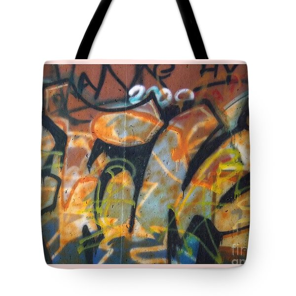 Writing On The Wall 1 Tote Bag by Sara  Raber