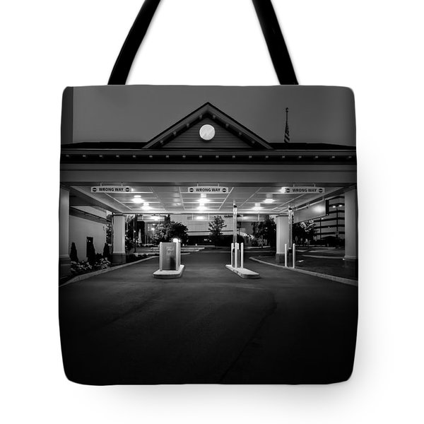 Wrong Way Tote Bag by Bob Orsillo
