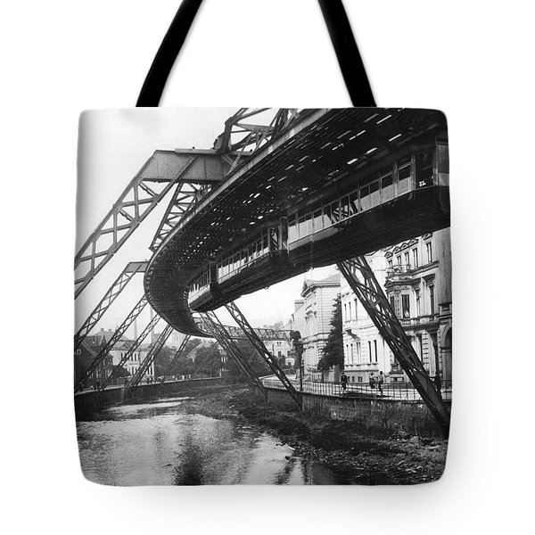 Wuppertal Suspension Railway Tote Bag