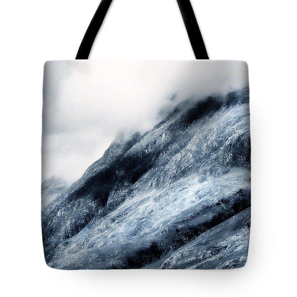 Wuthering Heights. Glencoe. Scotland Tote Bag by Jenny Rainbow
