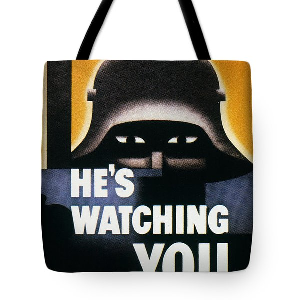 Wwii: Propaganda Poster Tote Bag by Granger