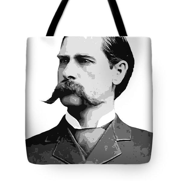 Wyatt Earp Old West Legend Tote Bag