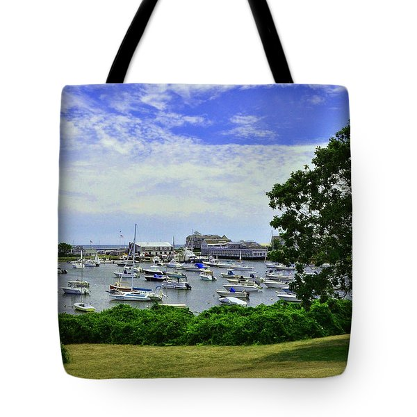 Wychmere Harbor Tote Bag by Allen Beatty