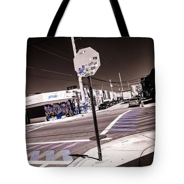 Wynwood Crossing Tote Bag