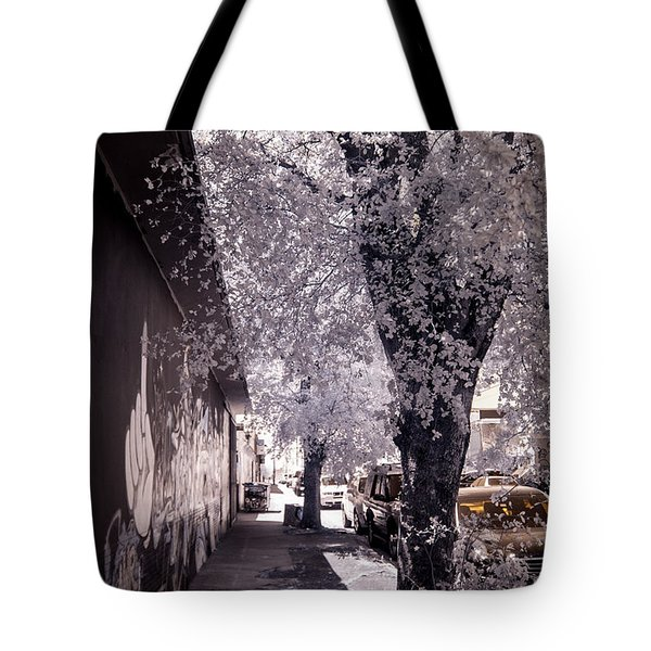 Wynwood Treet Shadow Tote Bag