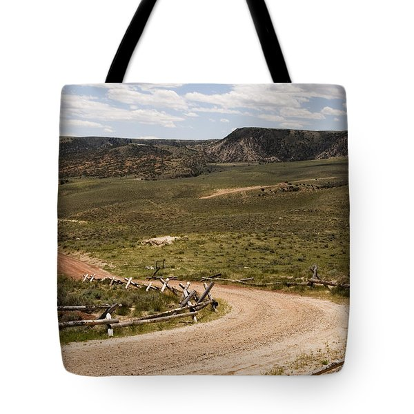 Wyoming Tote Bag