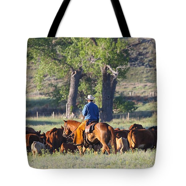 Wyoming Country Tote Bag by Diane Bohna