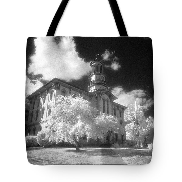 Wyoming County Courthouse Tote Bag