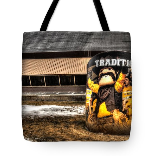 Wyoming Tradition Tote Bag