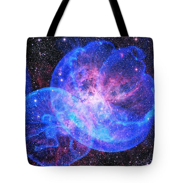 X-factor In Universe. Strangers In The Night Tote Bag