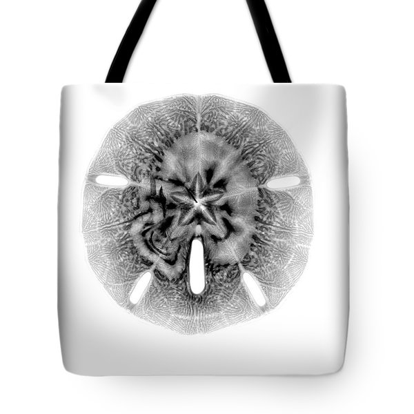 X-ray Of Sand Dollar Tote Bag by Bert Myers