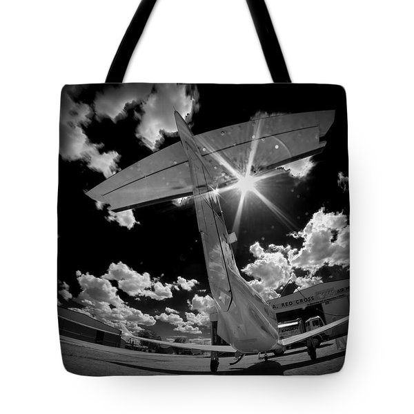 X Ray Plane Tote Bag by Paul Job