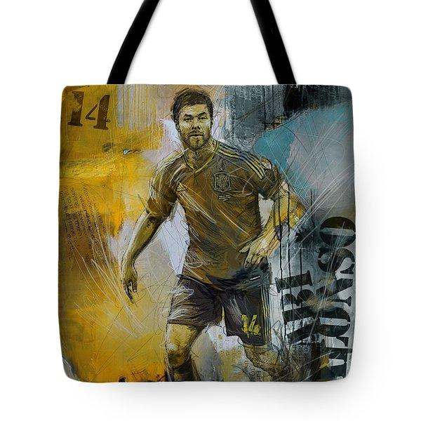 Xabi Alonso - B Tote Bag