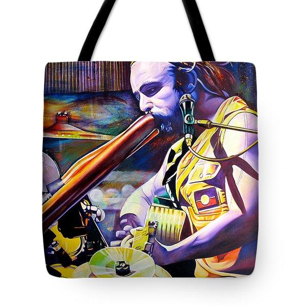 Xavier Rudd Tote Bag by Joshua Morton