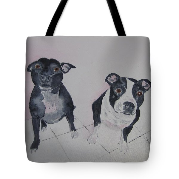 Are You Looking At Me Tote Bag by Elvira Ingram