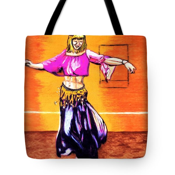 Xenia Dance 2 Tote Bag