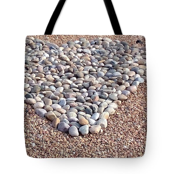 Xeriscape Heart Tote Bag