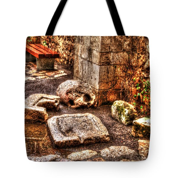 Tote Bag featuring the photograph Stones That Don't Lie - Israel by Doc Braham