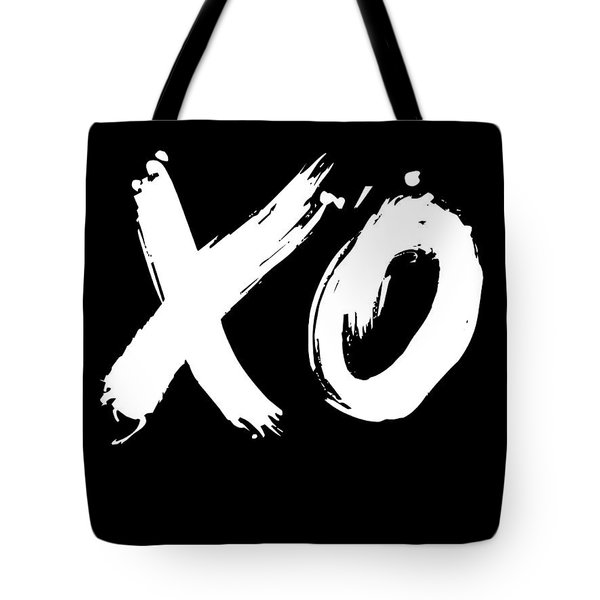 Xo Poster Black Tote Bag