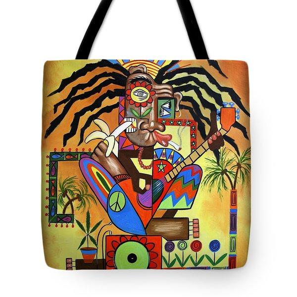 Ya Mon 2 No Steal Drums Tote Bag