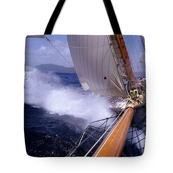 Yacht Race, Caribbean Tote Bag
