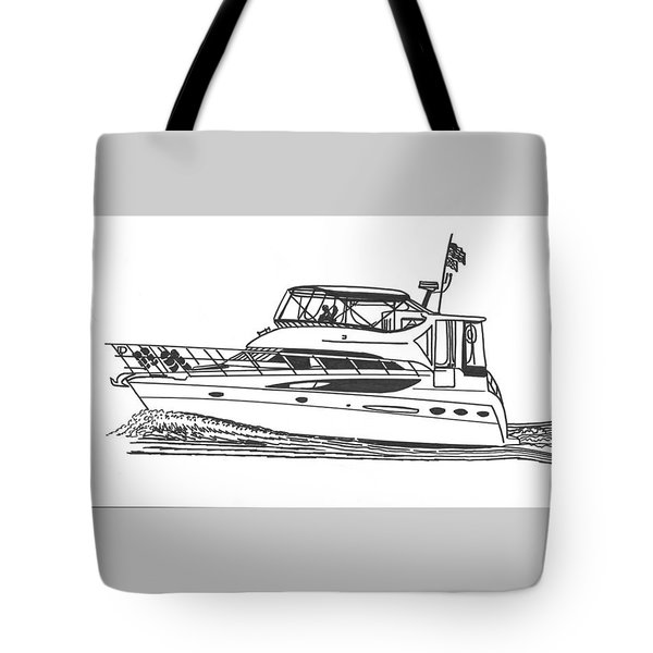 Yachting Good Times Tote Bag by Jack Pumphrey