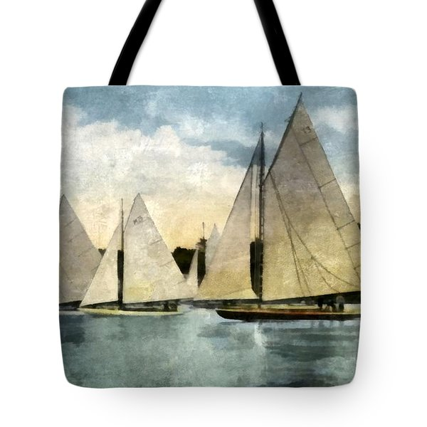Yachting In Saugatuck Tote Bag