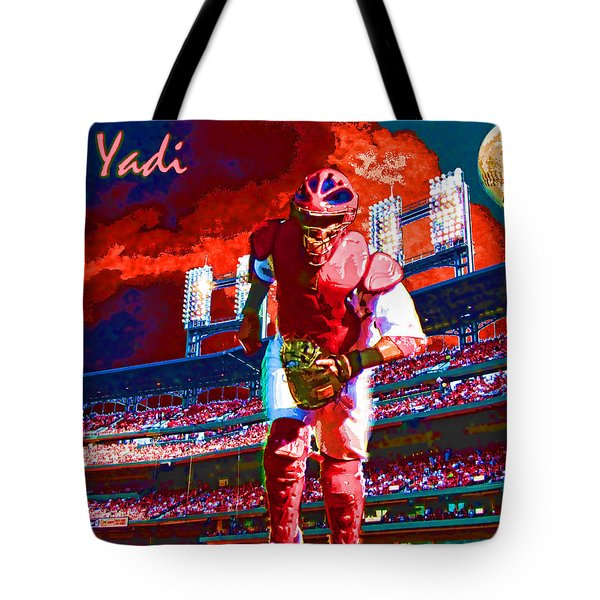 Yadi Tote Bag by John Freidenberg