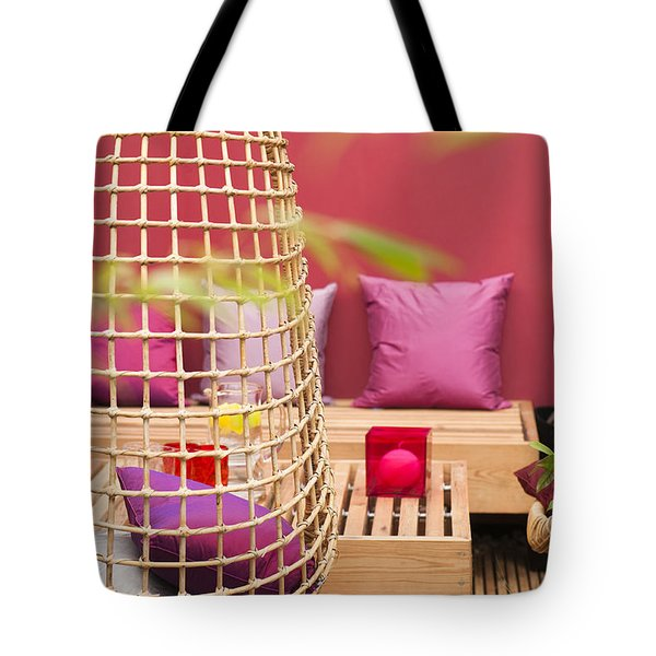 Yado Garden Tote Bag by Anne Gilbert